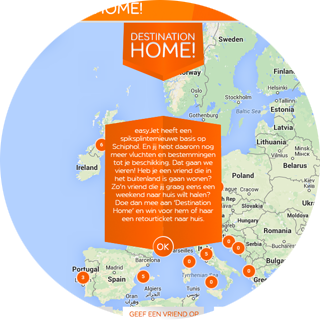 EasyJet - Destination Home